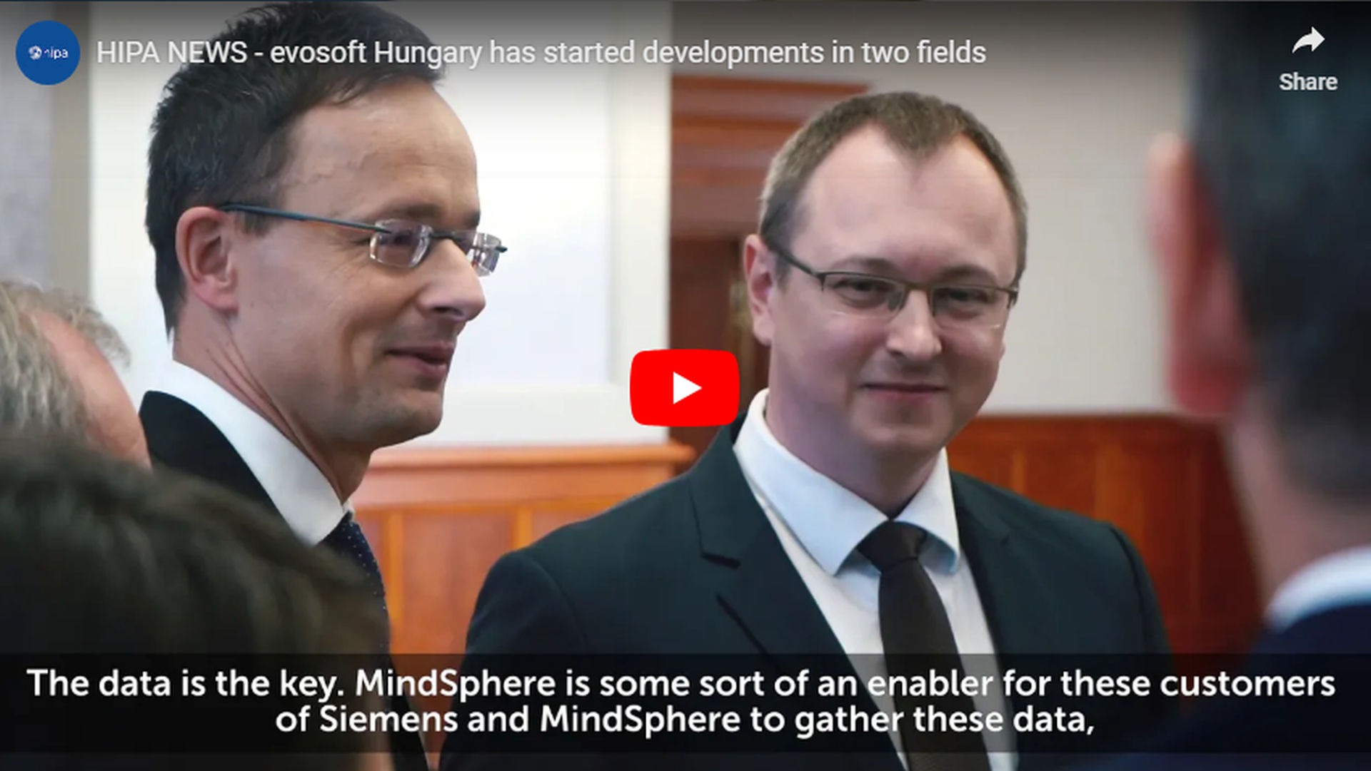 One of the top software houses in Hungary has started developments in two fields - VIDEO REPORT