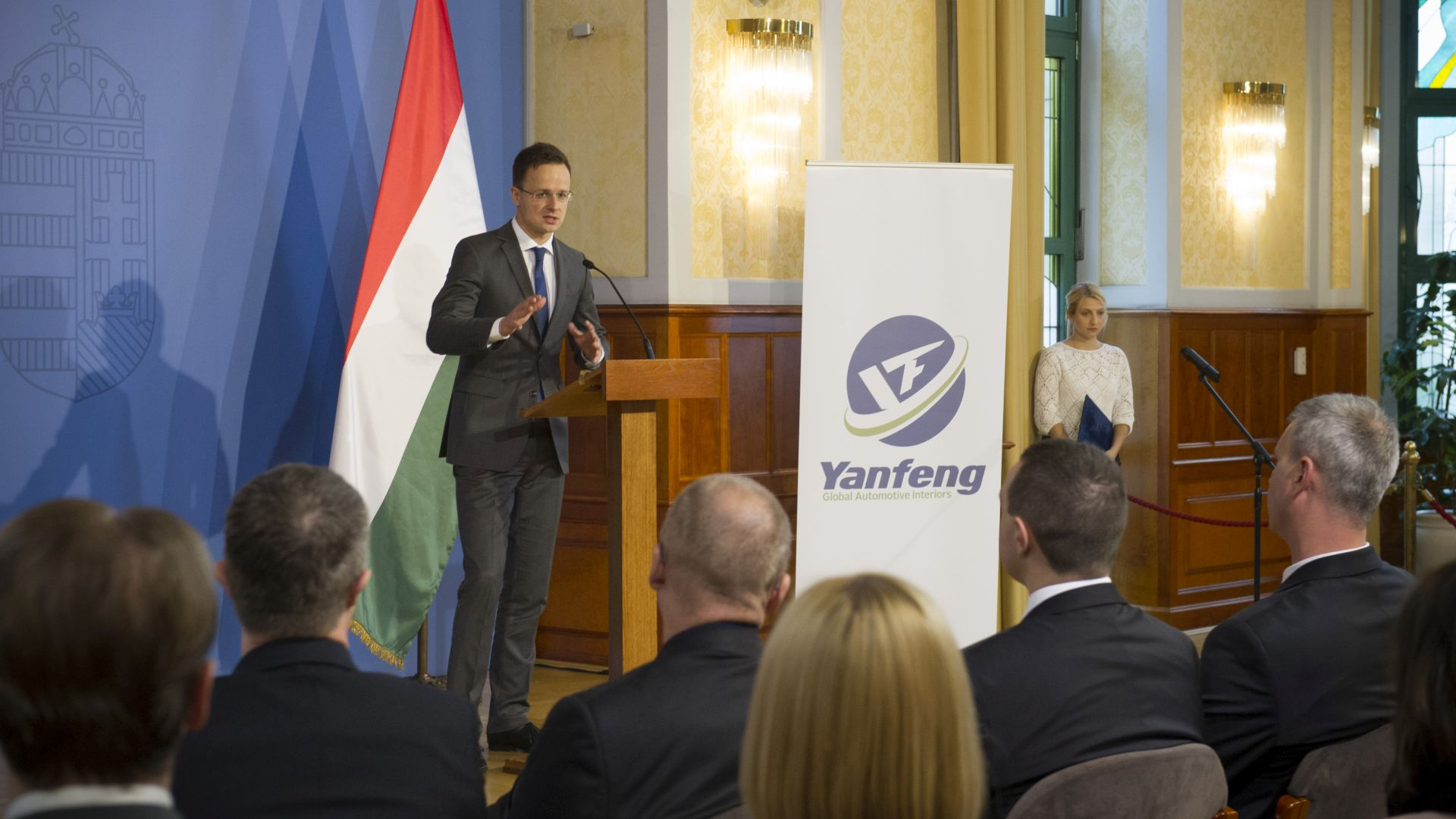 Yanfeng creates 450 new jobs in Pápa