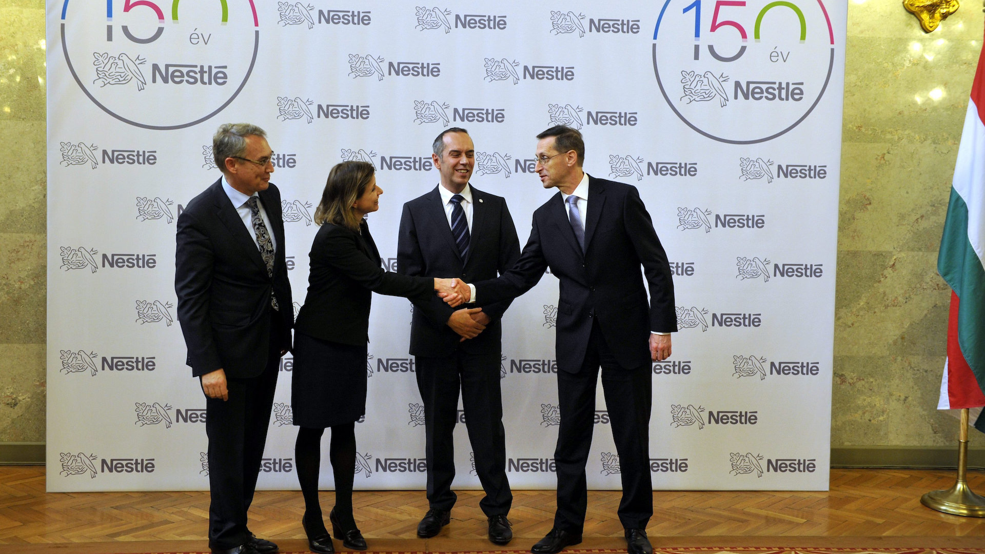 Record-level expansion in the Bük plant of Nestlé