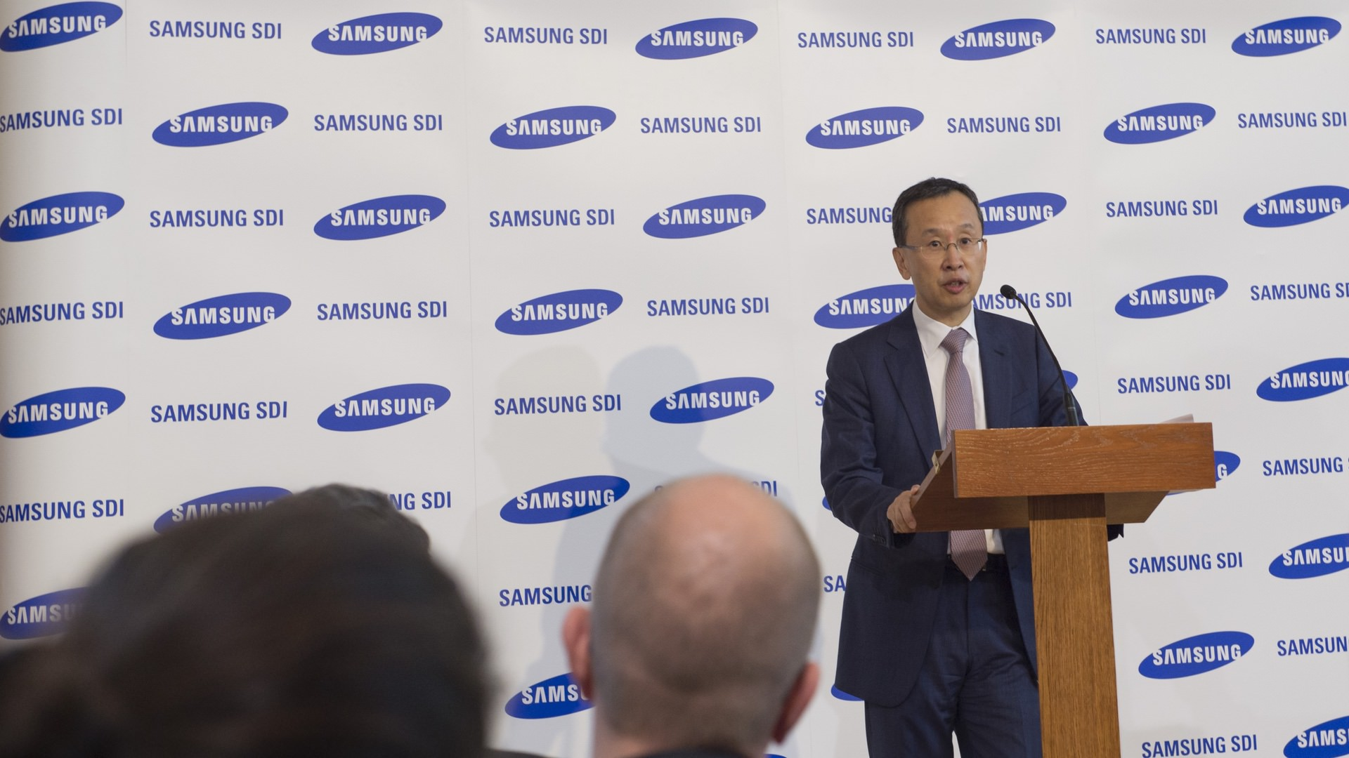 Samsung SDI battery factory, Jeong SehWoong