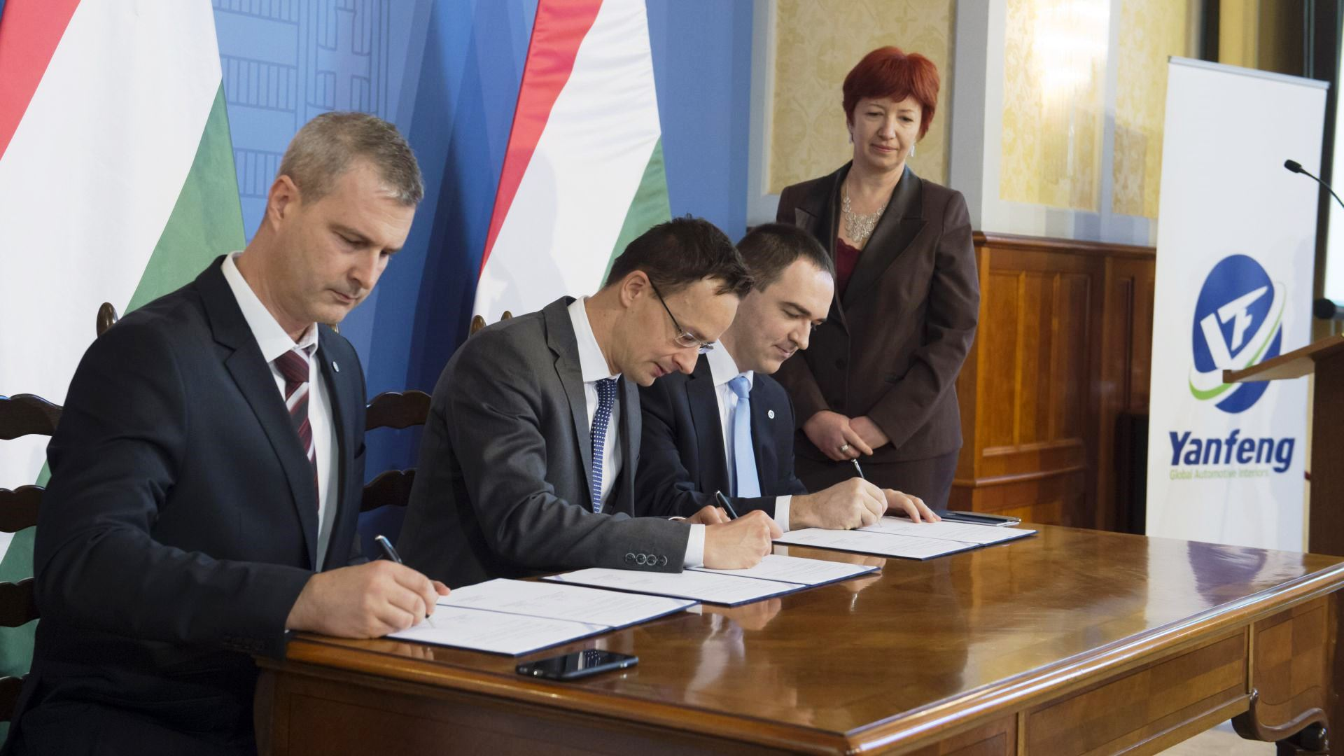 Hungarian Government and Yanfeng entered into a strategic partnership
