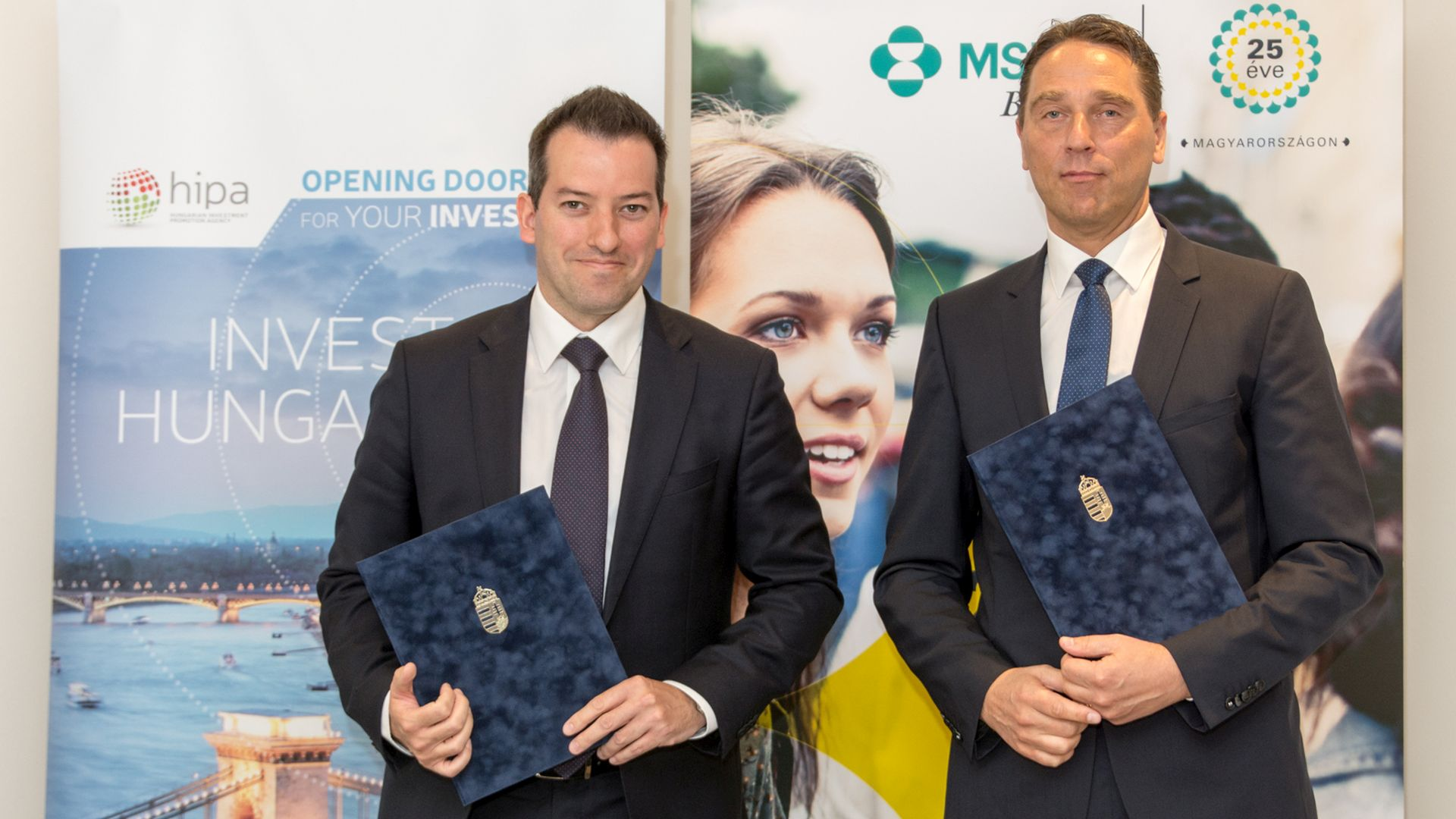 HIPA and MSD Pharma Hungary signed a Memorandum of Understanding