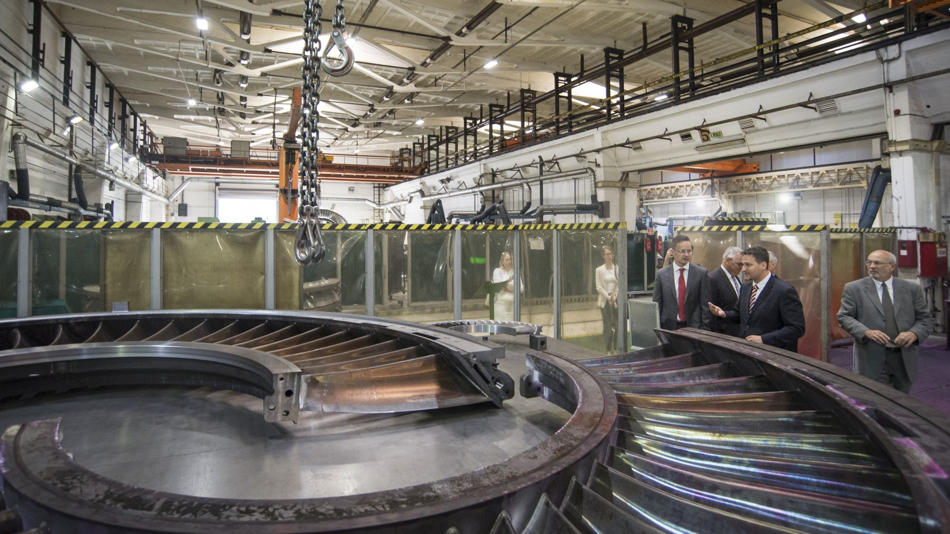 New generation turbine blades will be manufactured in Budapest