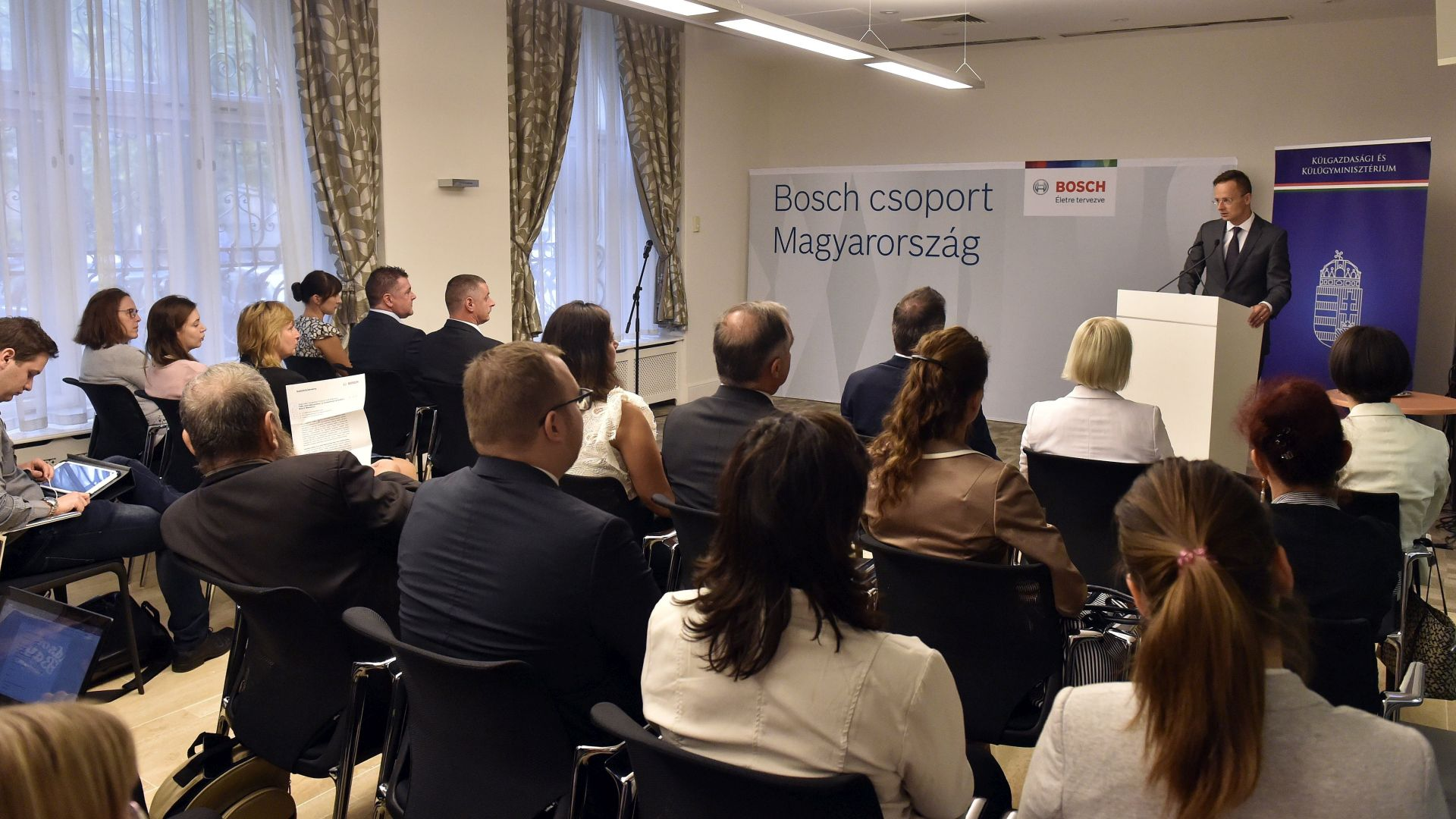 The logistics and service centre of Bosch in Miskolc is at full speed