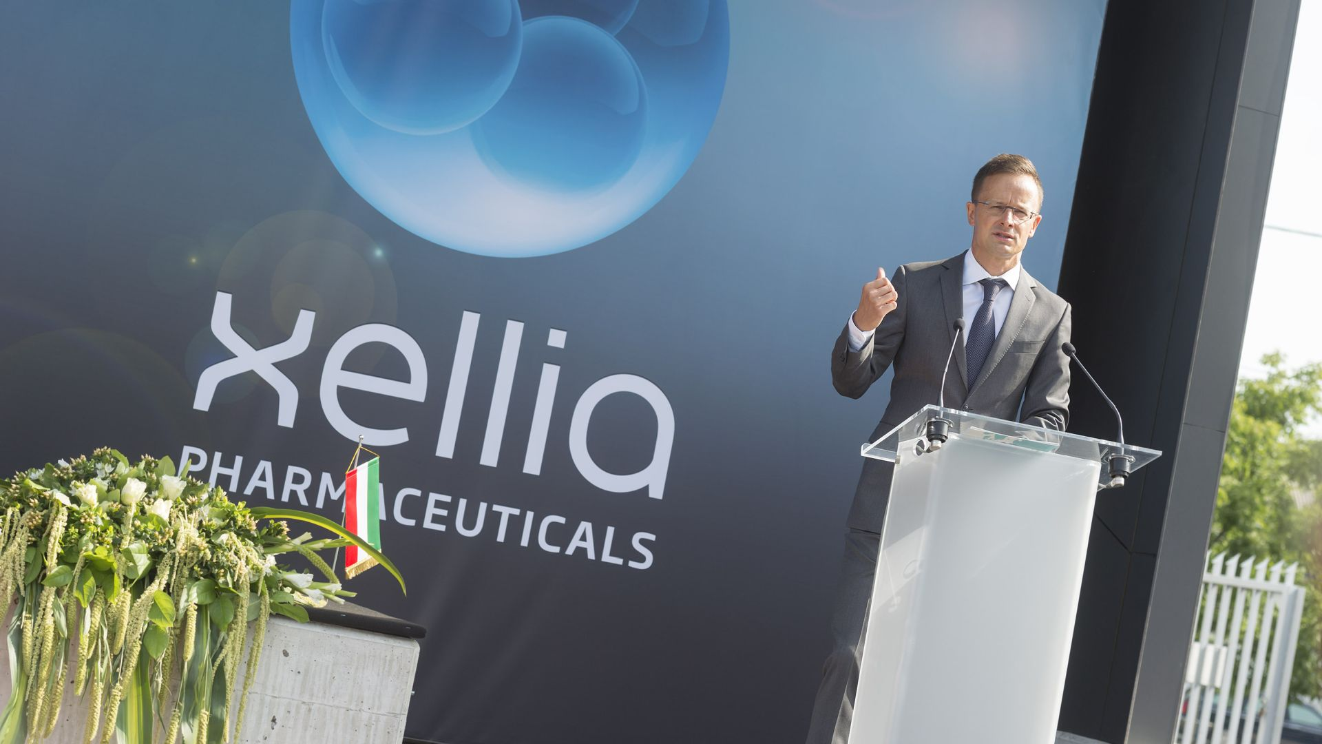 Xellia's new pharmaceutical laboratory delivered in Budapest