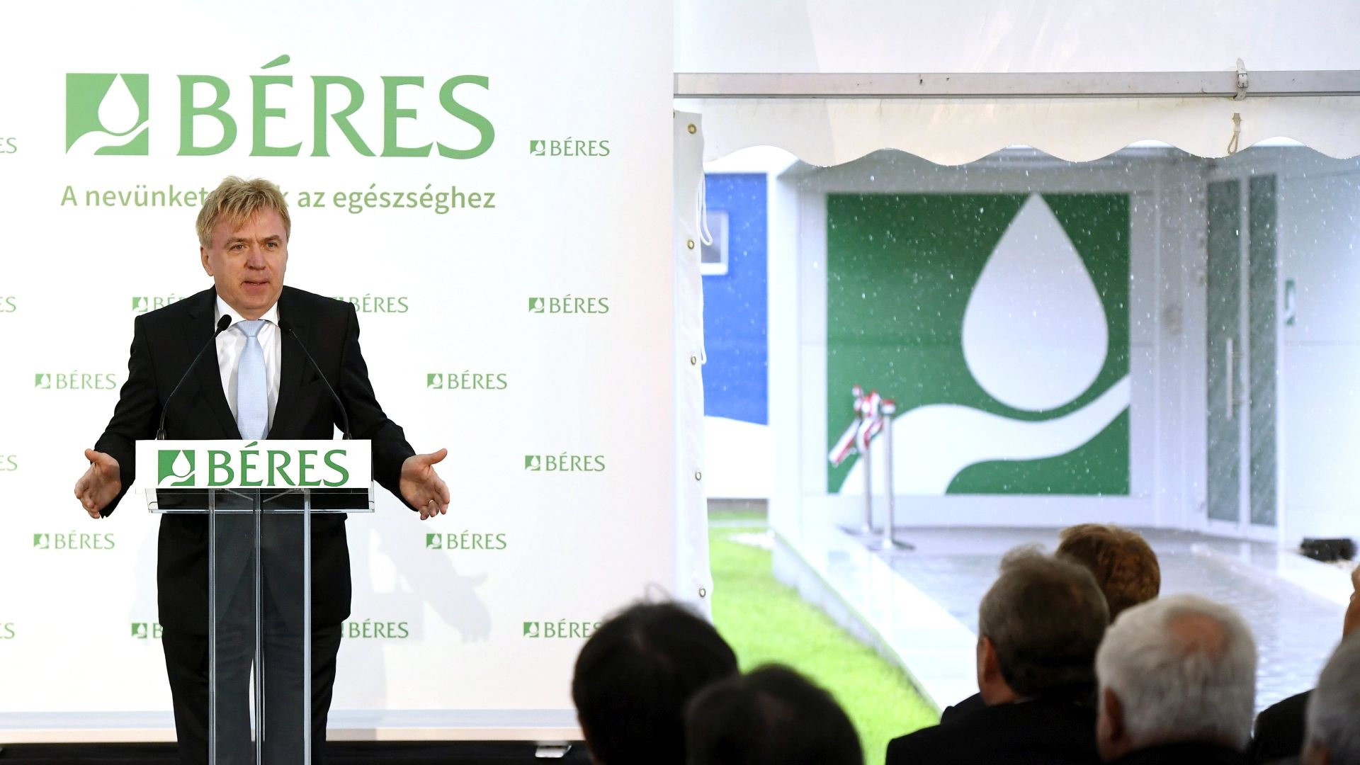The complex development of the Béres pharmaceutical factory has been completed in Szolnok