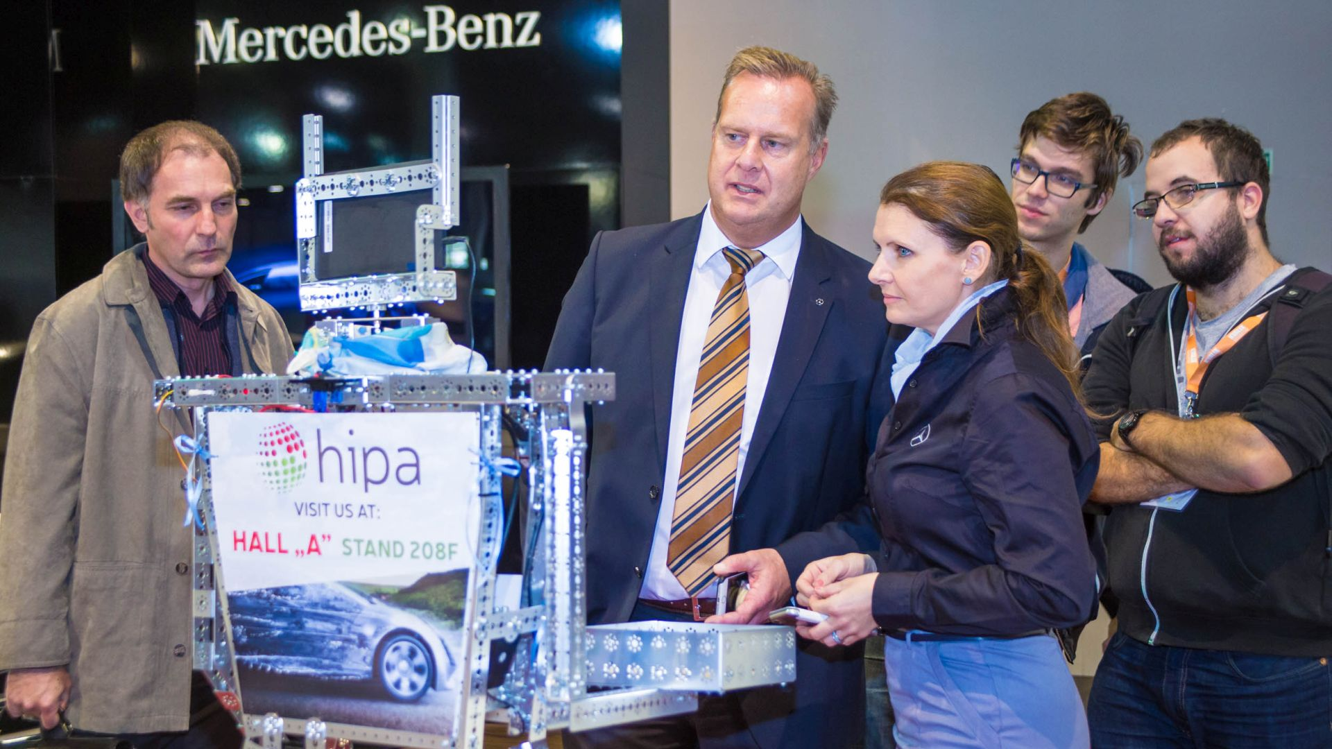 Christian Wolff, CEO of Mercedes-Benz Manufacturing Hungary and CARola