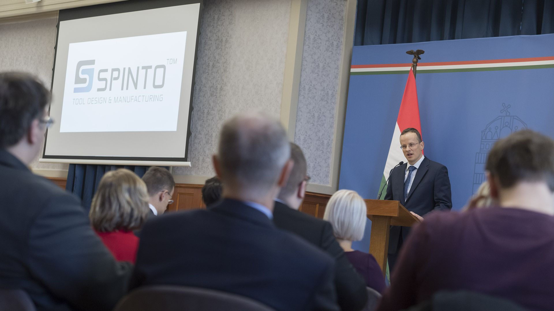 Spinto is to build its tool factory of regional importance in Miskolc