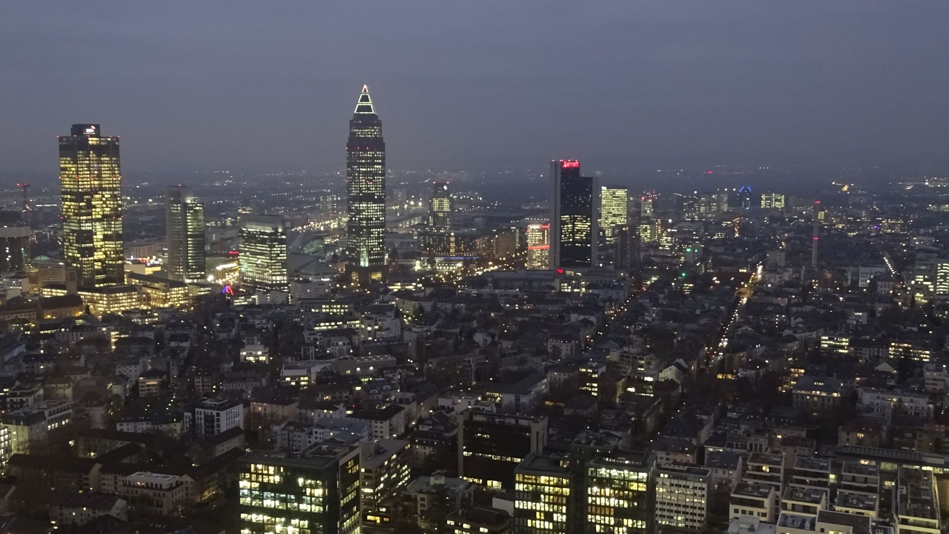 Frankfurt am Main is one of the most important financial centres in Europe
