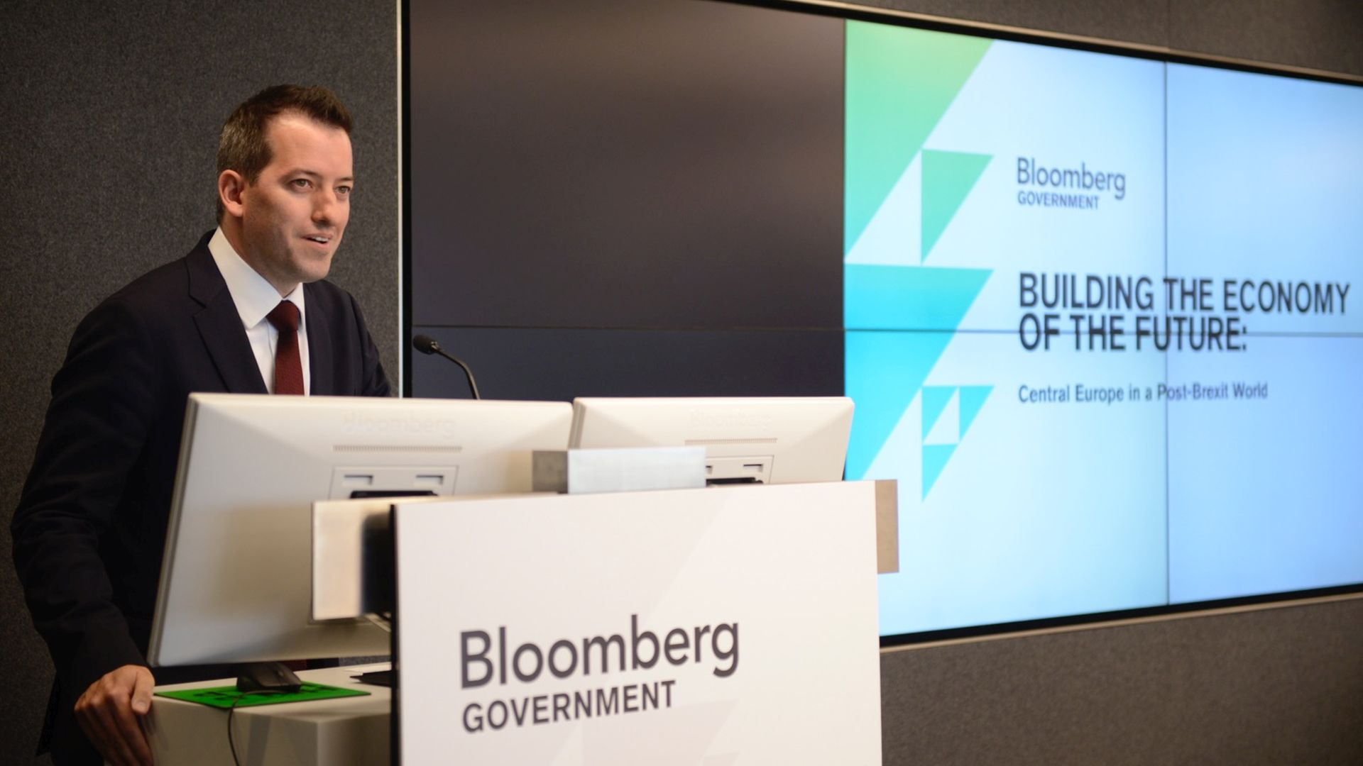 Hungarian investment forum at Bloomberg's New York headquarters
