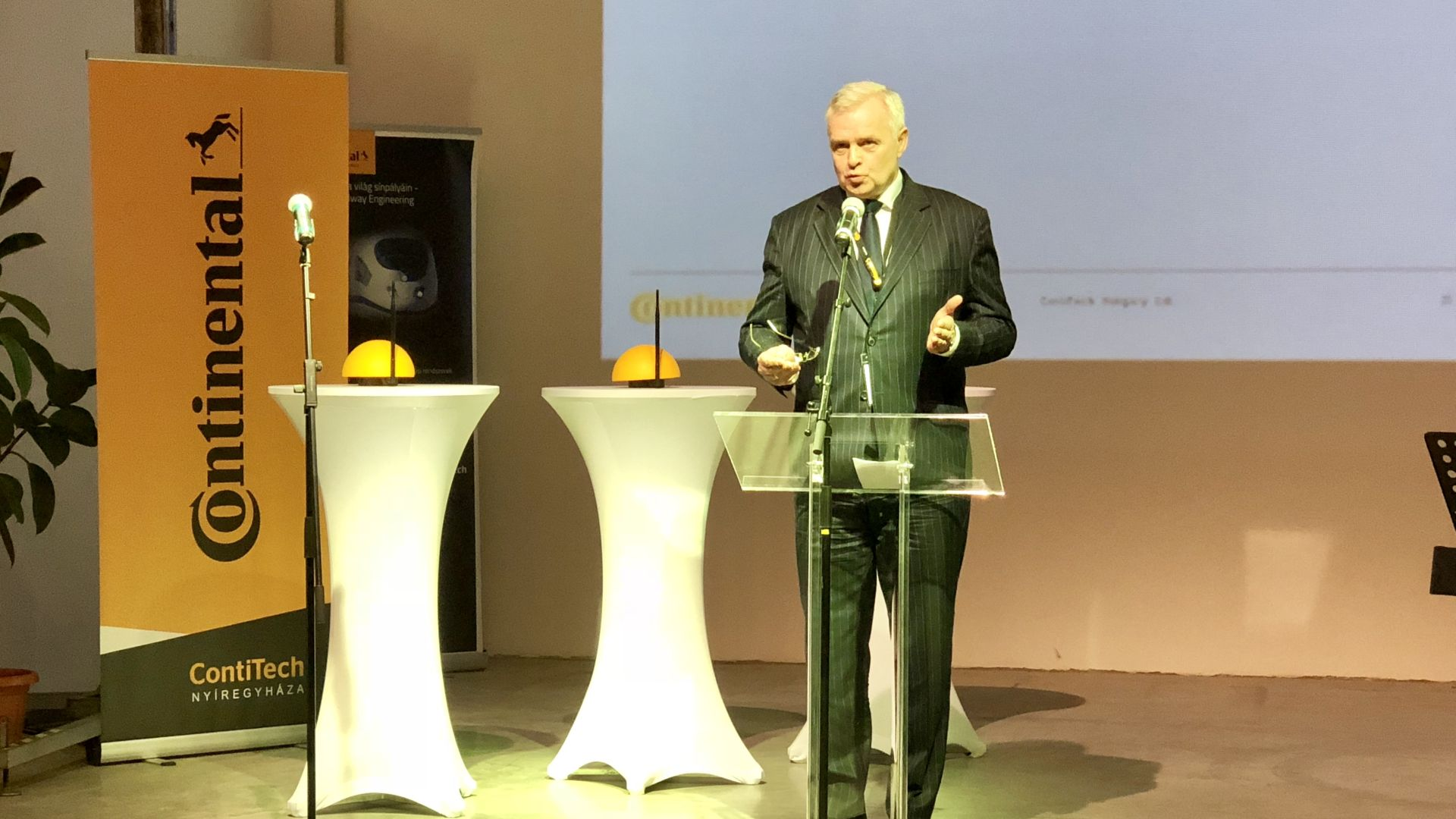 Continental launched its latest development in Hungary