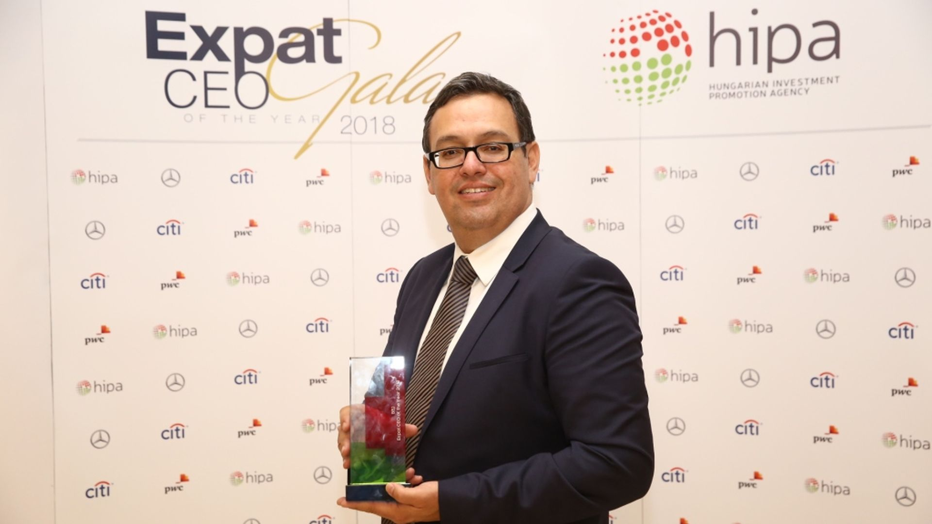 HIPA and Budapest Business Journal once again awarded the best foreign CEOs