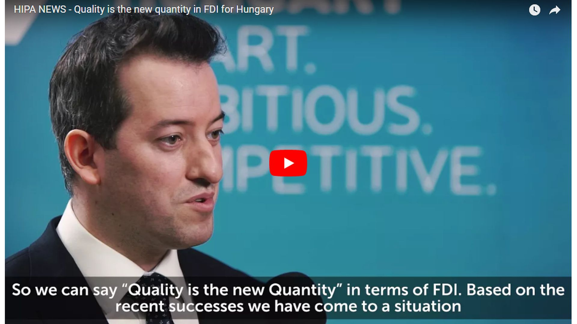 Quality is the new quantity in FDI - VIDEO