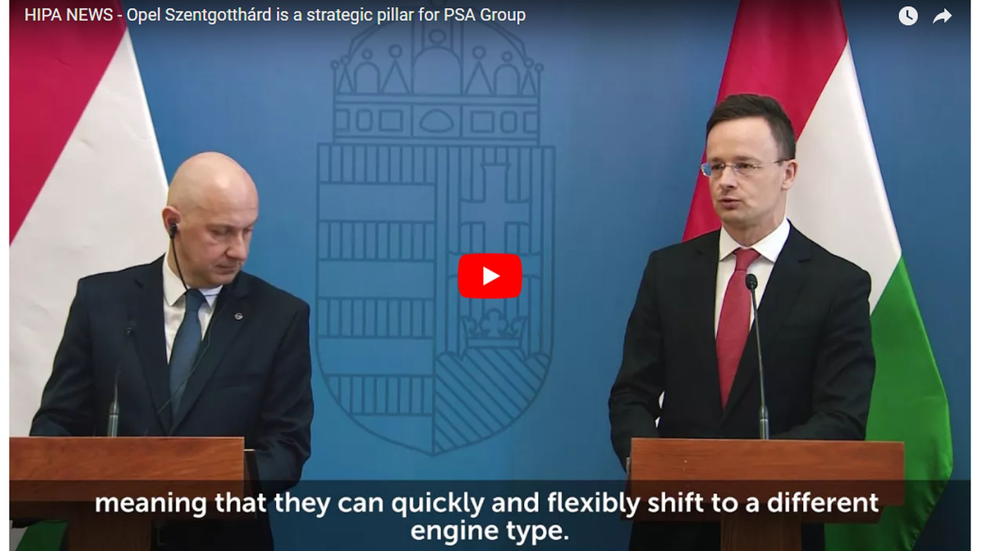 Szentgotthárd as an important pillar of the long-term strategy of Opel and PSA - VIDEO REPORT