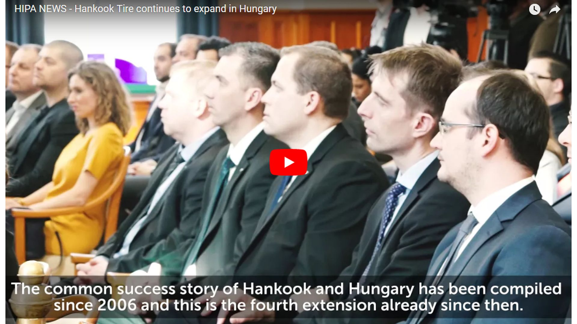 The European production site of Hankook to be extended by a new unit - VIDEO REPORT