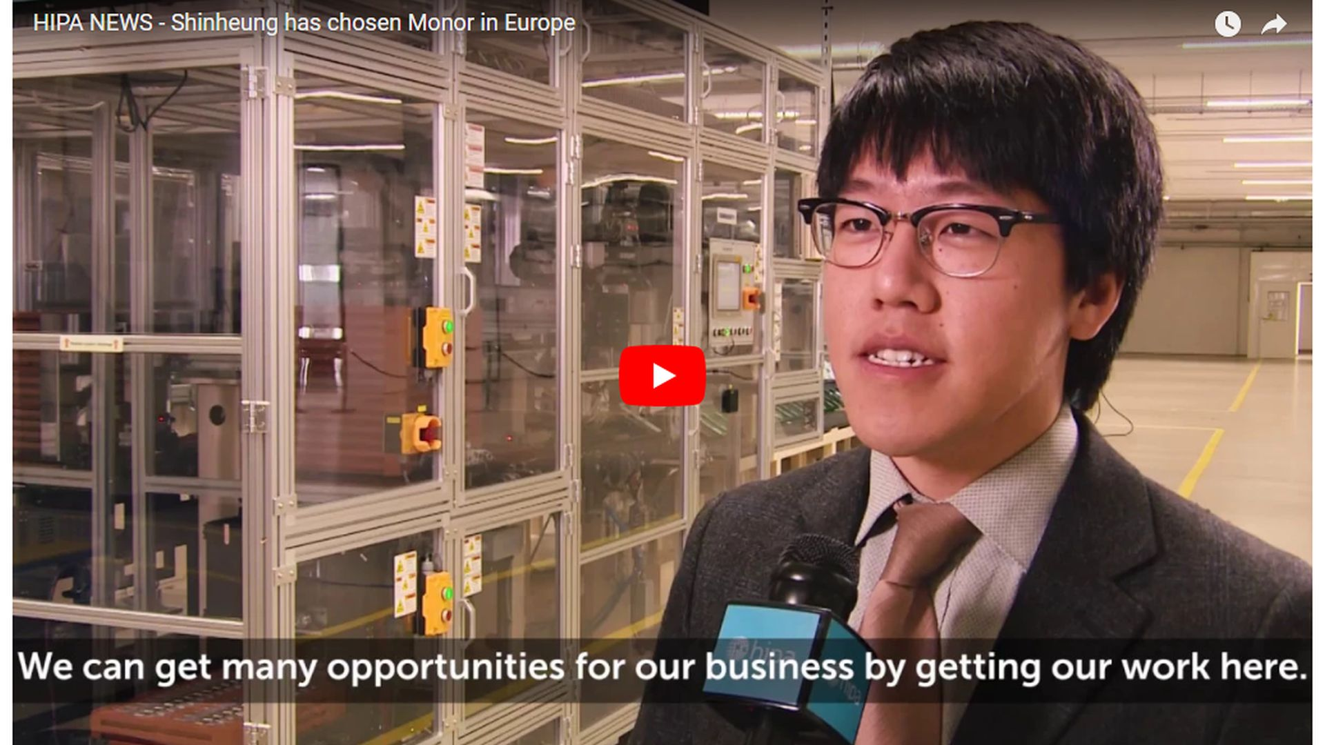 Another major Asian supplier has chosen Hungary for its European location - VIDEO REPORT