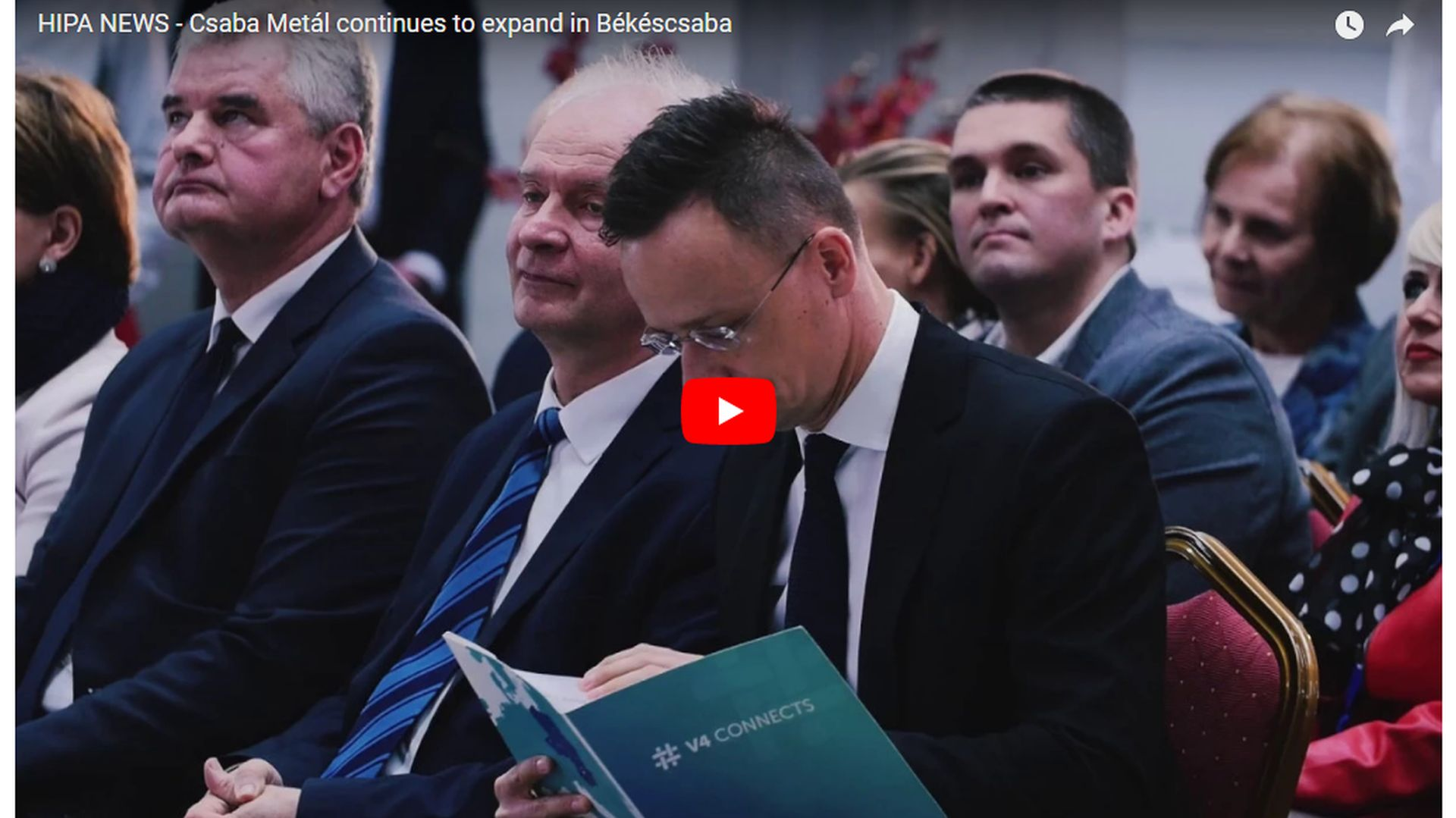 Csaba Metál has developed into an important European automotive supplier - VIDEO REPORT