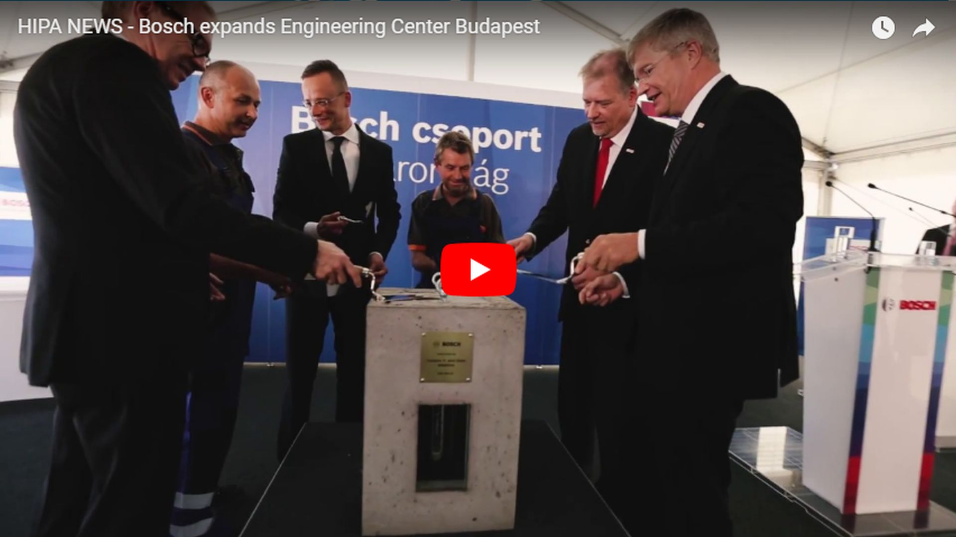 Bosch expands its second largest European development centre - VIDEO REPORT