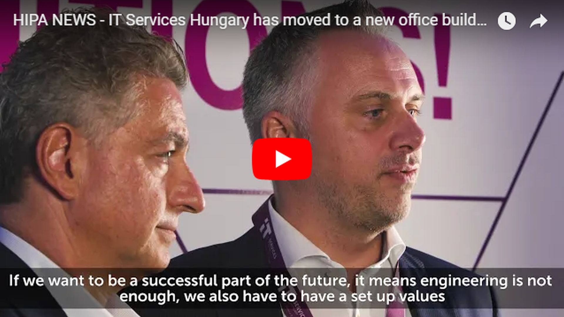 IT Services Hungary has moved to a new office building in Budapest - VIDEO REPORT