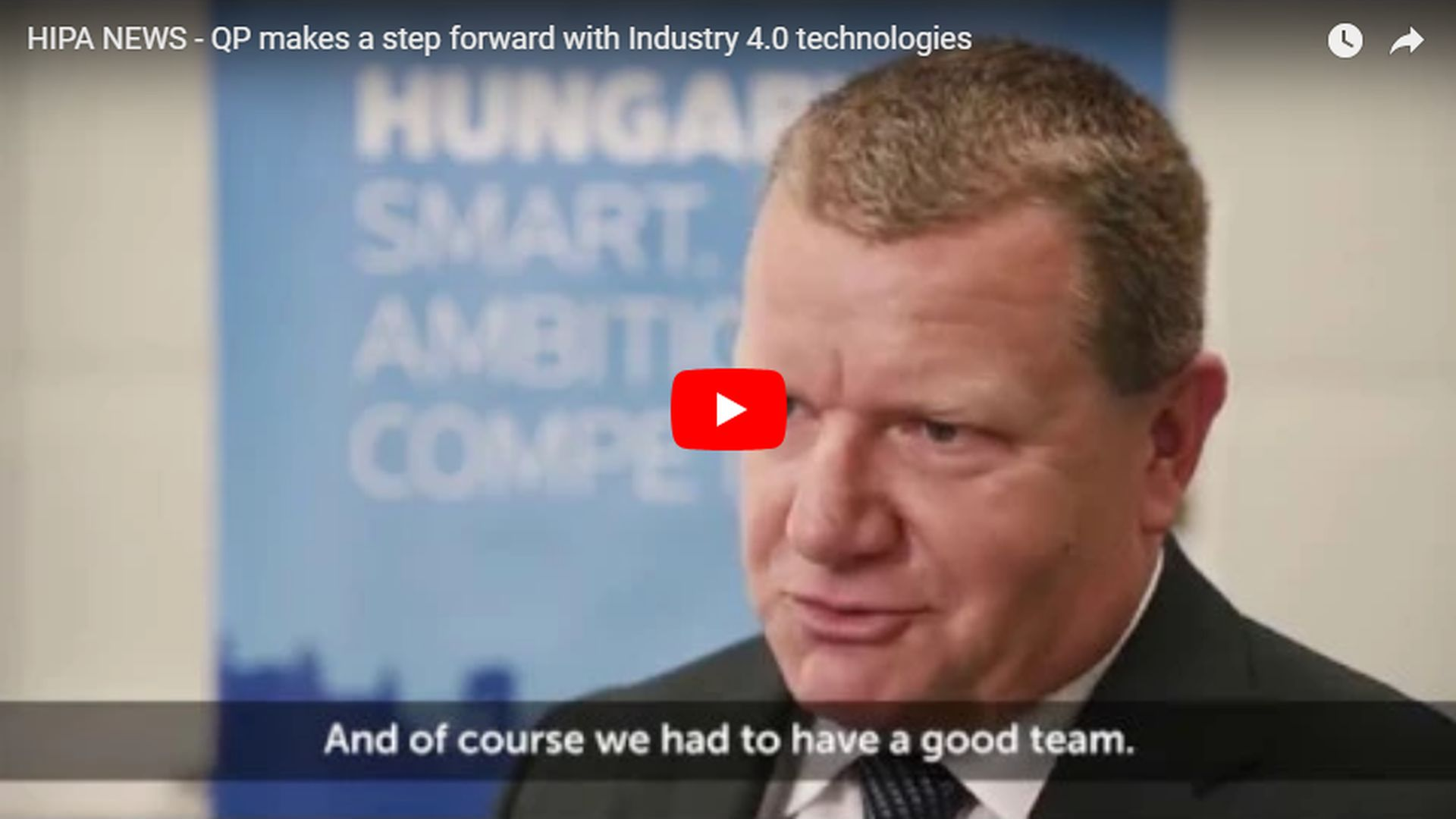 The Hungarian automotive supplier develops using Industry 4.0 production - VIDEO REPORT