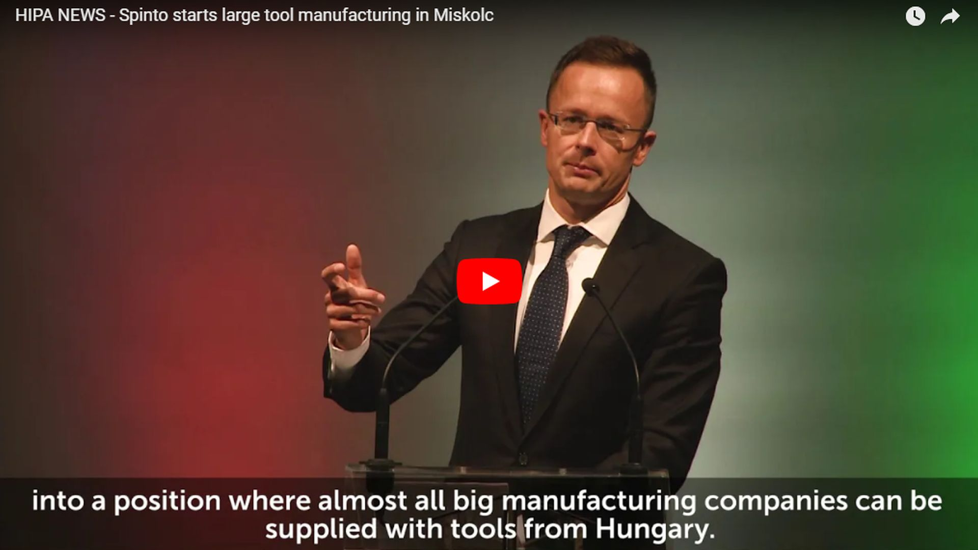 Production started in the regionally important tool factory in Miskolc - VIDEO REPORT