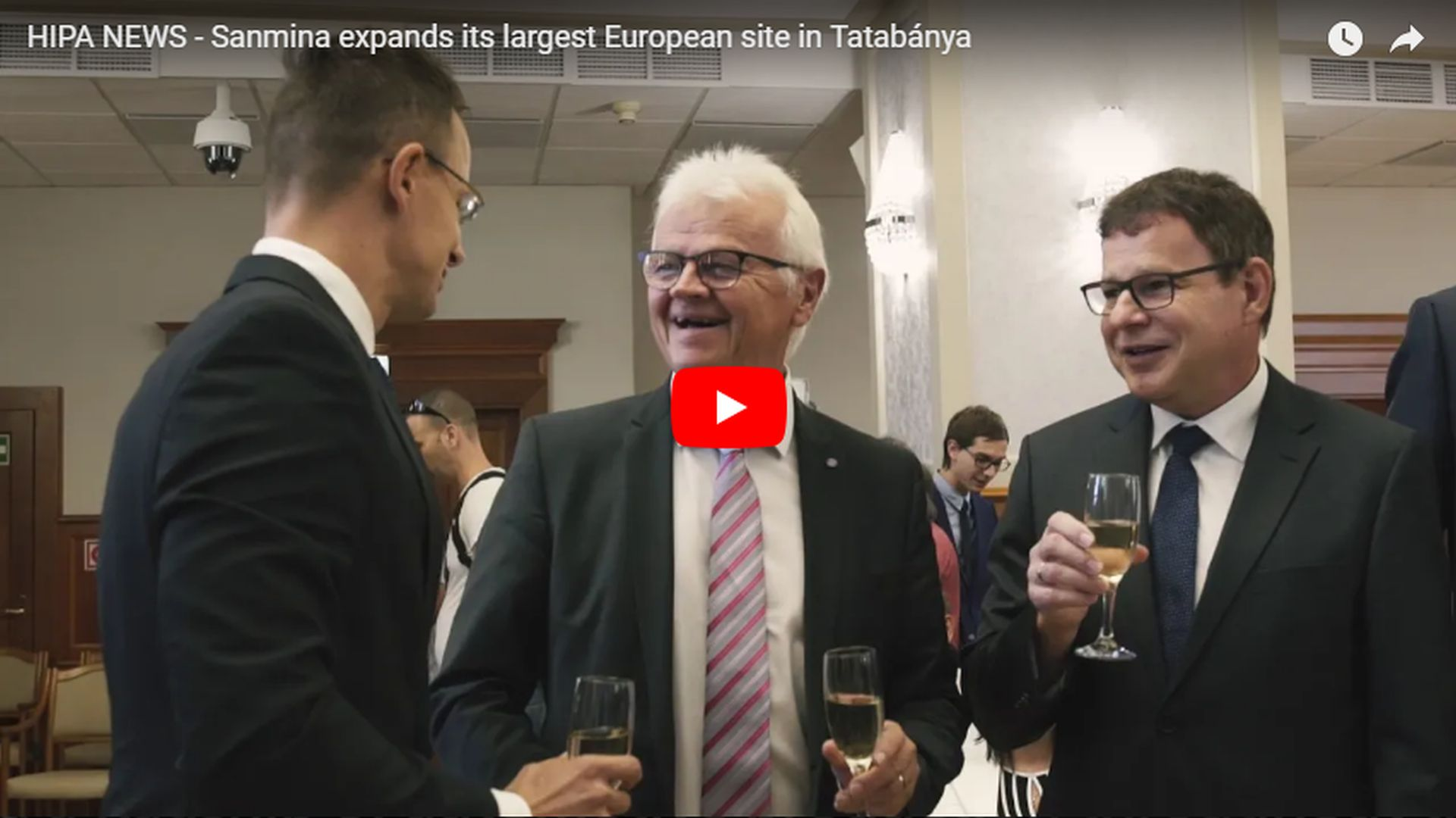 Sanmina further expands its largest European base - VIDEO REPORT