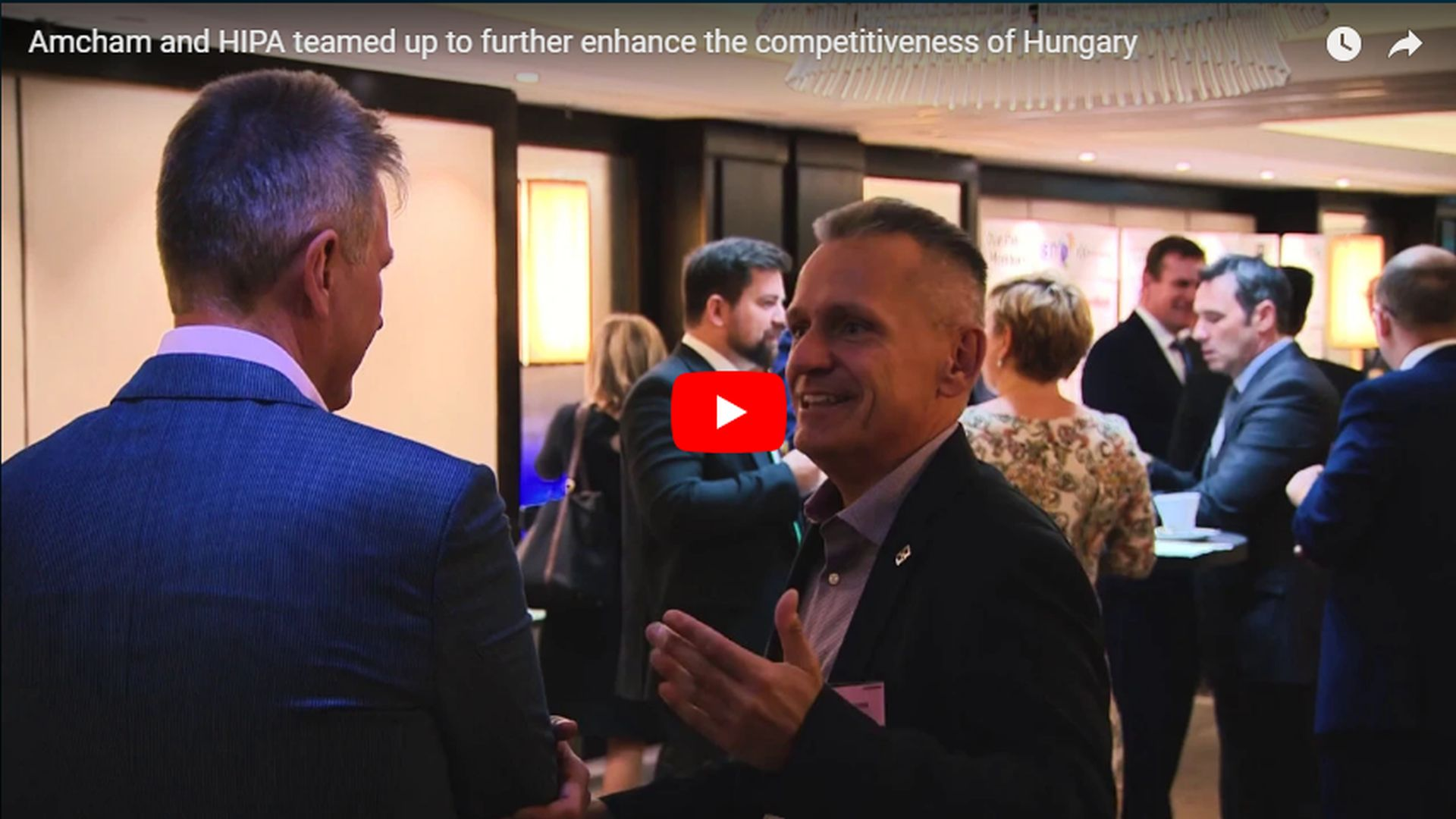 Government-business cooperation to enhance the competitiveness of Hungary - VIDEO