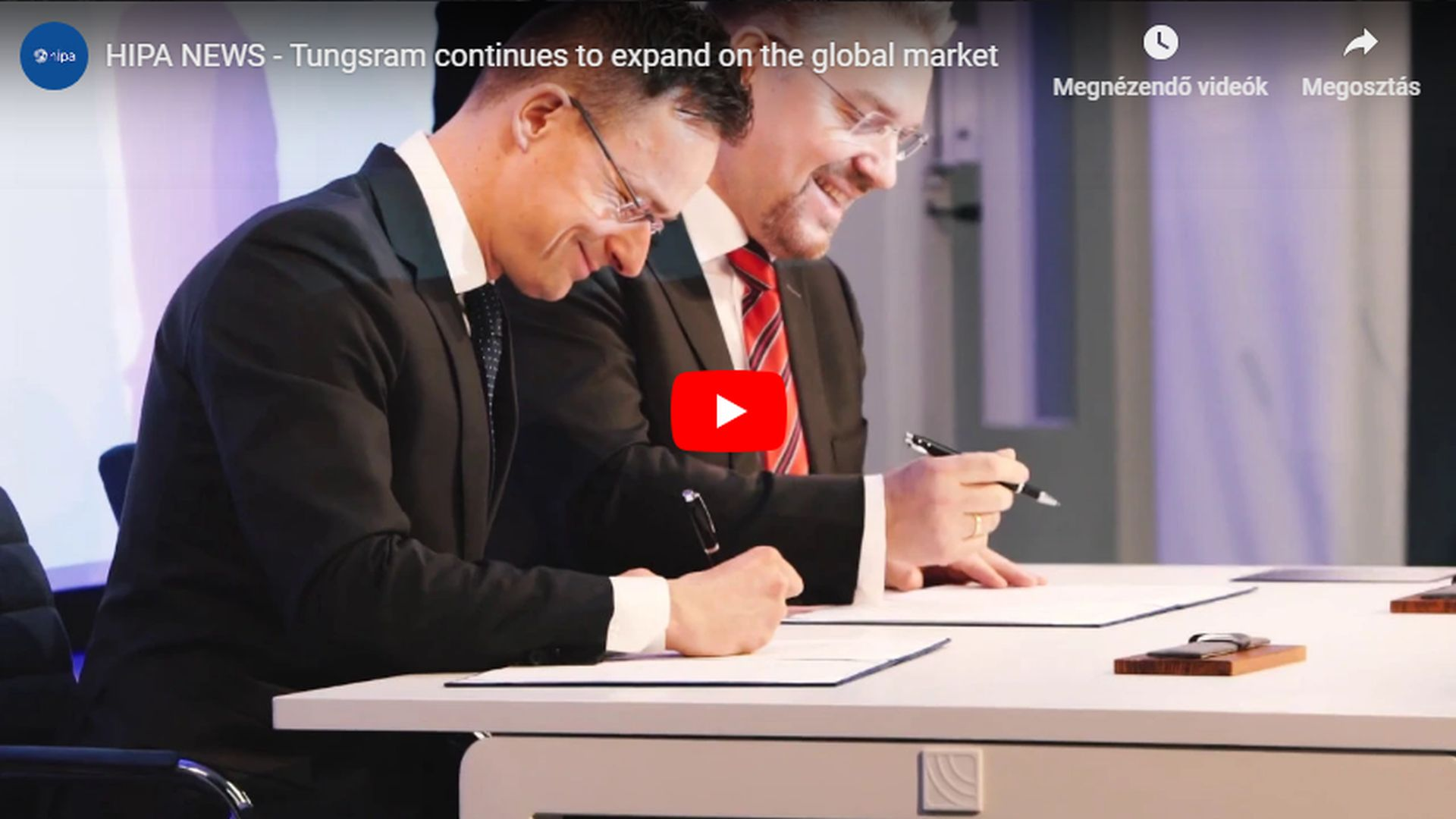 Tungsram to expand further on the global market - VIDEO REPORT