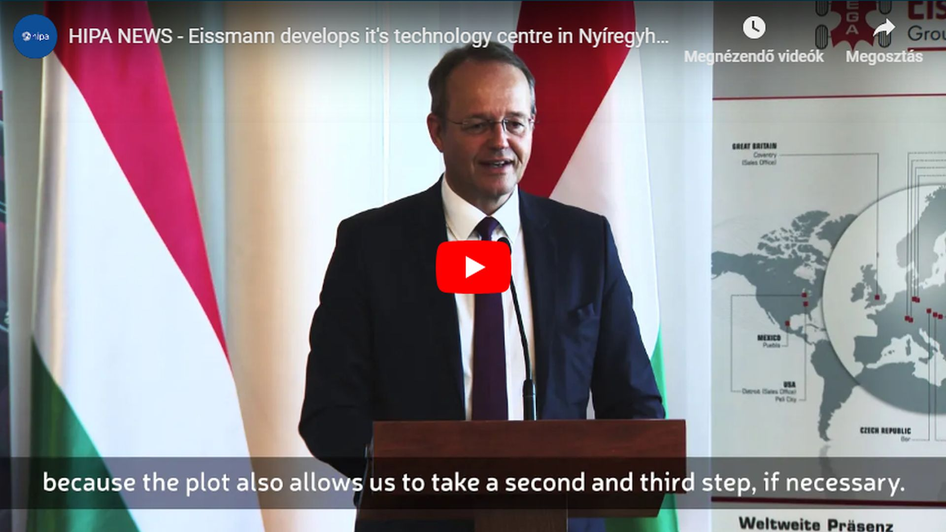 Exclusive car interior manufacturer Eissmann expands its Nyíregyháza site - VIDEO REPORT