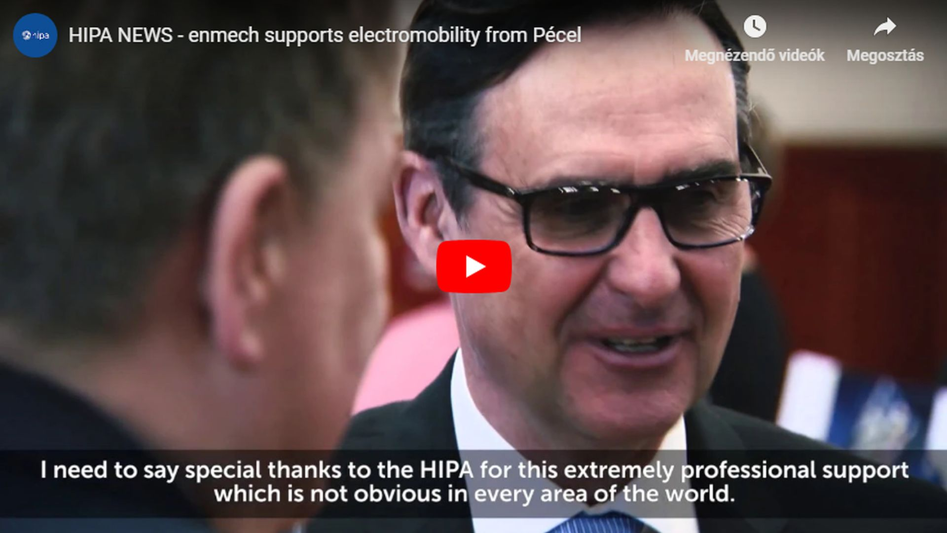 With its latest development also enmech embarks on the path of e-mobility - VIDEO REPORT