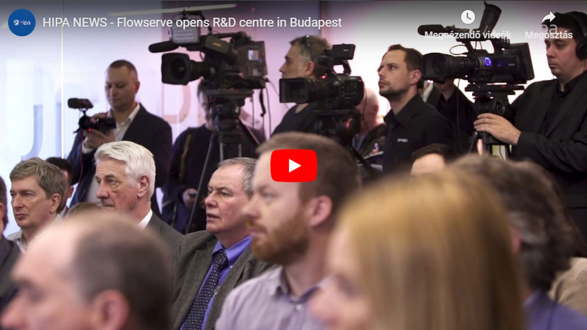 Flowserve opens its R&D centre in Budapest - VIDEO REPORT