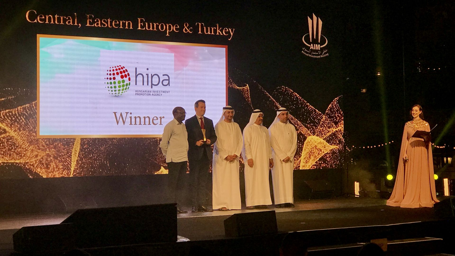 HIPA wins the AIM Annual Investment Award 2019 for its outstanding results
