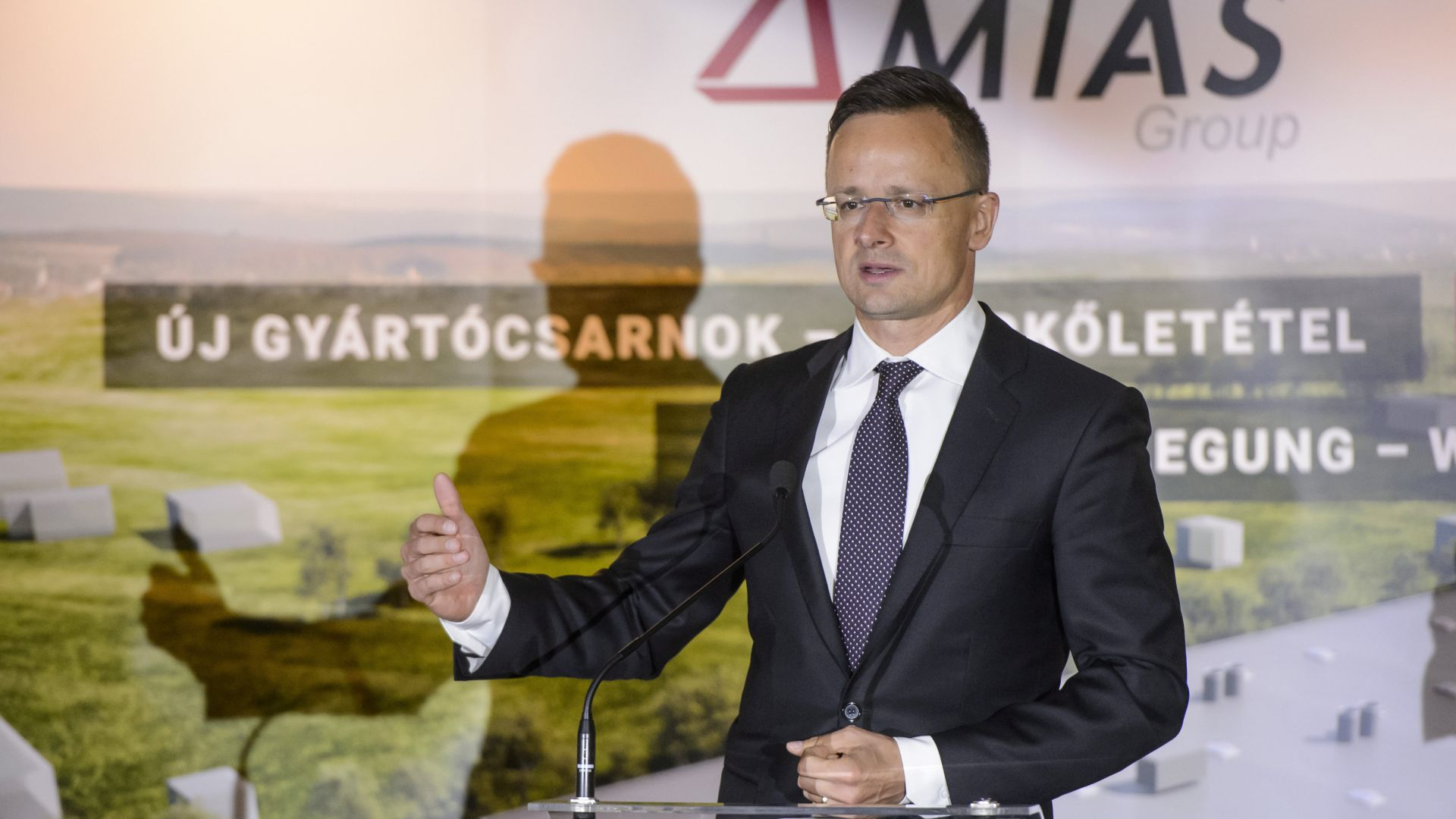 MIAS Group is constructing its second production hall in Gyöngyös