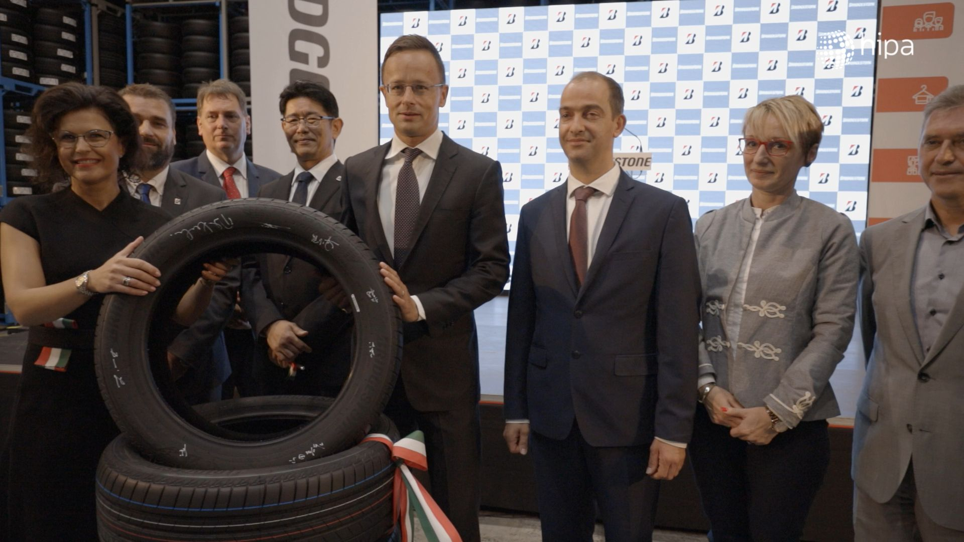 AI-based production further expands in Bridgestone's unit in Tatabánya - VIDEO REPORT