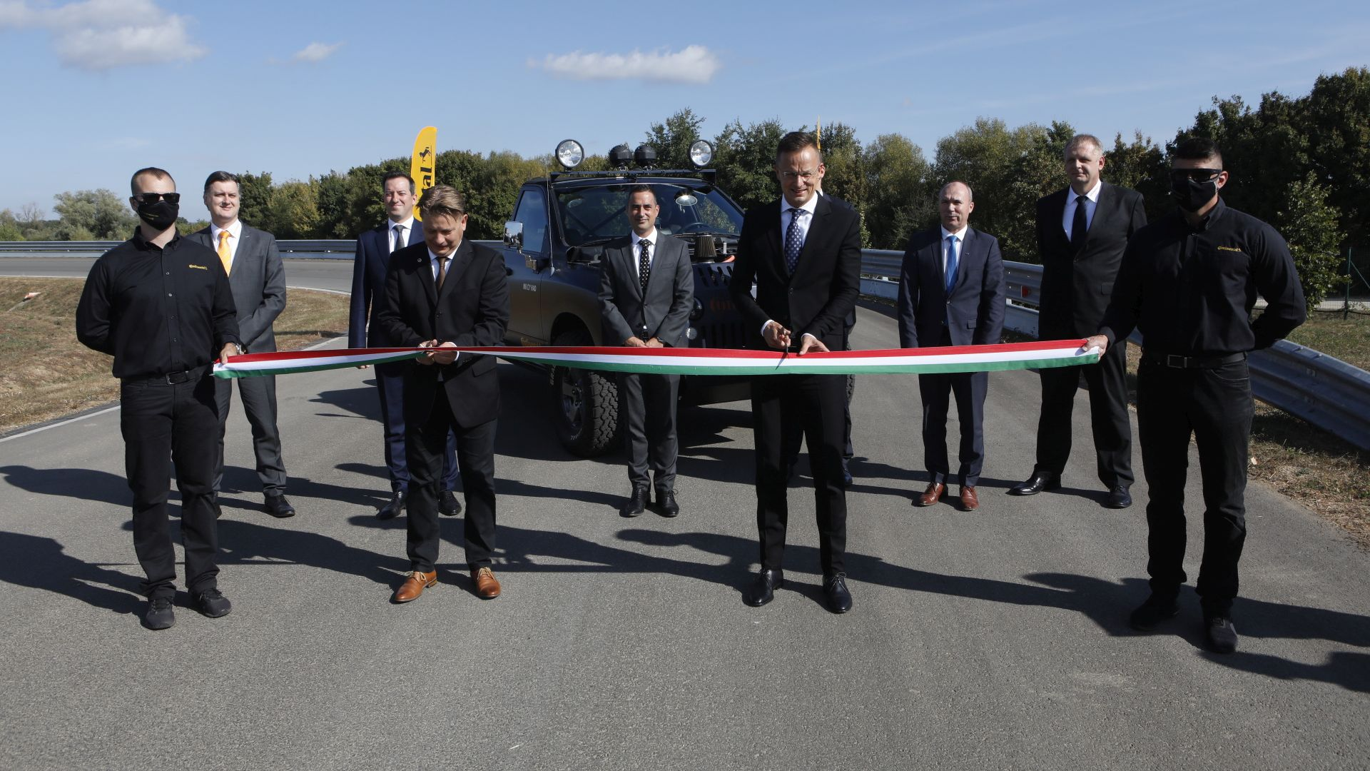 Continental handed over its redesigned test track in Veszprém - VIDEO REPORT